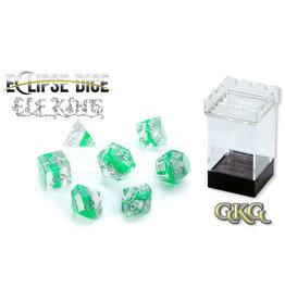 Gate Keeper Games Elf King Eclipse 7-Die Polyhedral Set