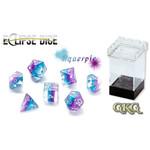 Gate Keeper Games Aquerple Eclipse 7-Die Polyhedral Set