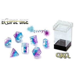 Gate Keeper Games Aquerple Eclipse 7-Die Polyhedral Set