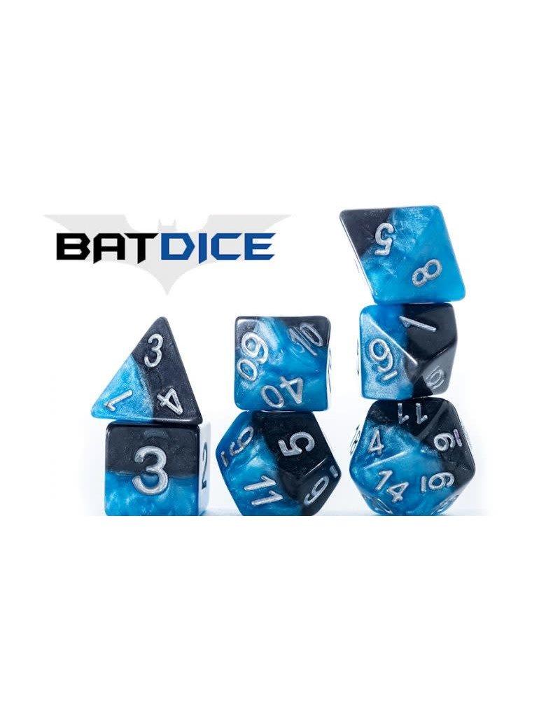 Gate Keeper Games Bat Dice Halfsies 7-Die Polyhedral Set