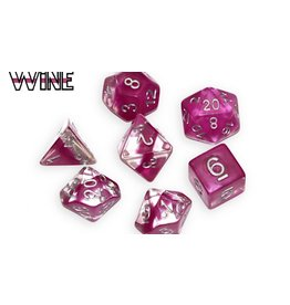Gate Keeper Games Wine Neutron 7-Die Polyhedral Set