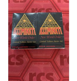 Steve Jackson Games Illuminati New World Order Limited Starter