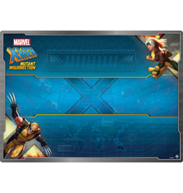 Fantasy Flight Games X-Men Mutant Insurrection Game Mat