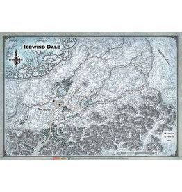 "GaleForce Nine D&D Icewind Dale Map 30"" x 21"""