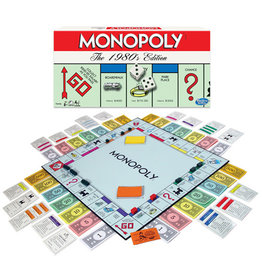Winning Moves Games Monopoly The 1980's Edition