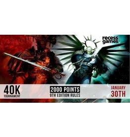 Recess 40k Tournament - January 30, 2021