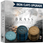 Roxely Games Iron Clays Sleeve of 22 Brass Upgrade