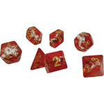 Sirius Dice RPG Dice Set (7): Maple Leaf