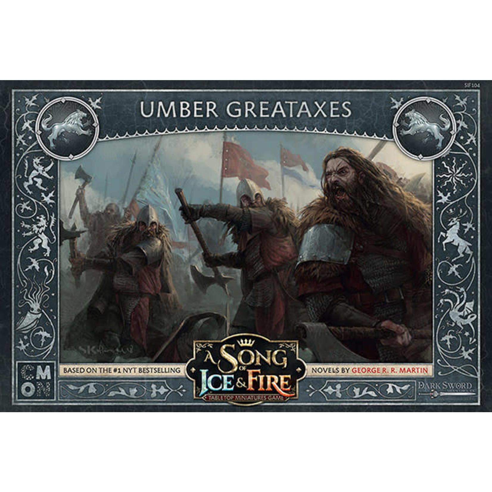 CMON A Song of Ice & Fire: Stark Umber Greataxes