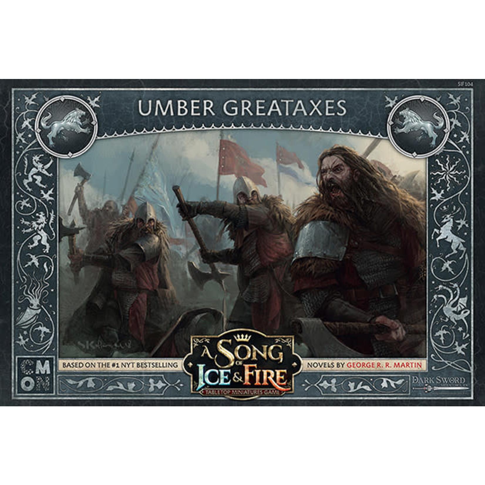 CMON A Song of Ice & Fire: Stark Umber Greataxes