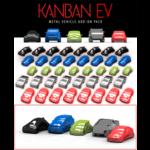 Eagle Gryphon Games KanBan EV Metal Car Set