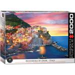 EuroGraphics Manarola at Dusk Italy 2000pc