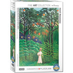EuroGraphics Woman in an Exotic Forest 1000pc