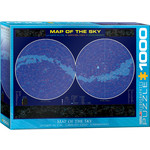 EuroGraphics Map of the Sky 1000pc