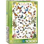 EuroGraphics Butterflies 1000pc