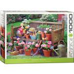 EuroGraphics Garden Bench 1000pc