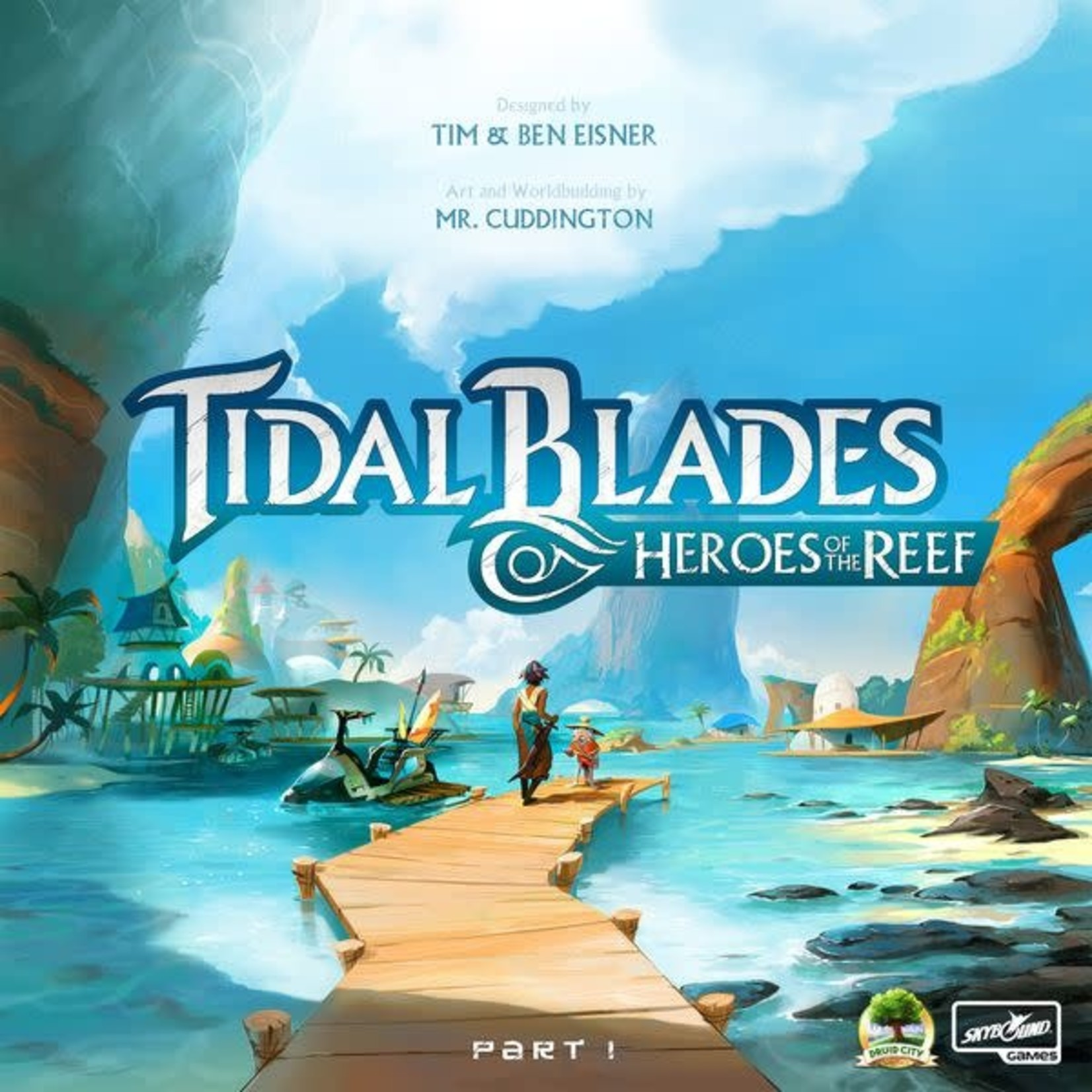 Druid City Games Tidal Blades Heroes of the Reef Part One