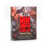 Games Workshop Daughters of Khaine Dice