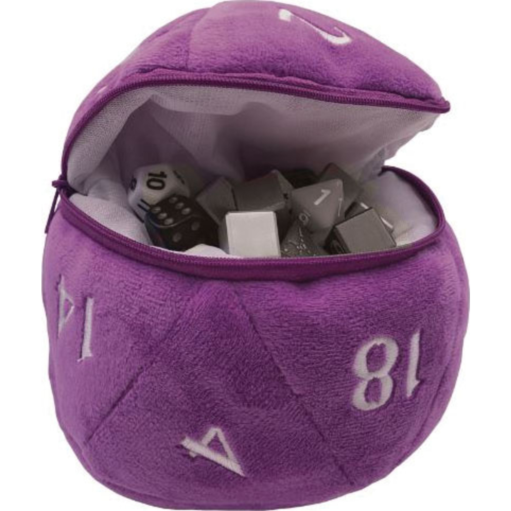 Ultra Pro D20 Plush Dice Bag Purple