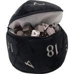 Ultra Pro D20 Plush Dice Bag Black