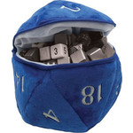 Ultra Pro D20 Plush Dice Bag Blue