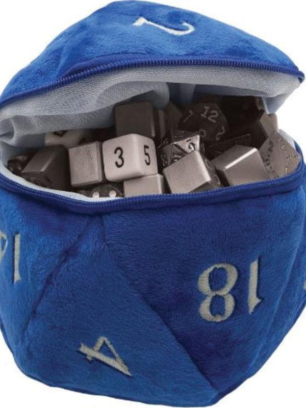 Ultra Pro D20 Plush Dice Bag Blue