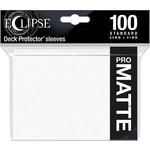 Ultra Pro Eclipse Matte Arctic White (100)