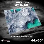 Frontline Gaming FLG Mats: Locone Peninsula 44 x 60