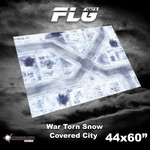 Frontline Gaming FLG War Torn Snow Covered City 44x60