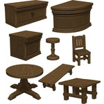 WIZKIDS/NECA D&D IotR The Yawning Portal Inn - Bars & Tables