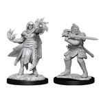 WIZKIDS/NECA D&DNMUM: Hobgoblin Fighter Male & Hobgoblin Wizard Female W15