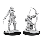 WIZKIDS/NECA PFDCUM: Human Fighter Female W15