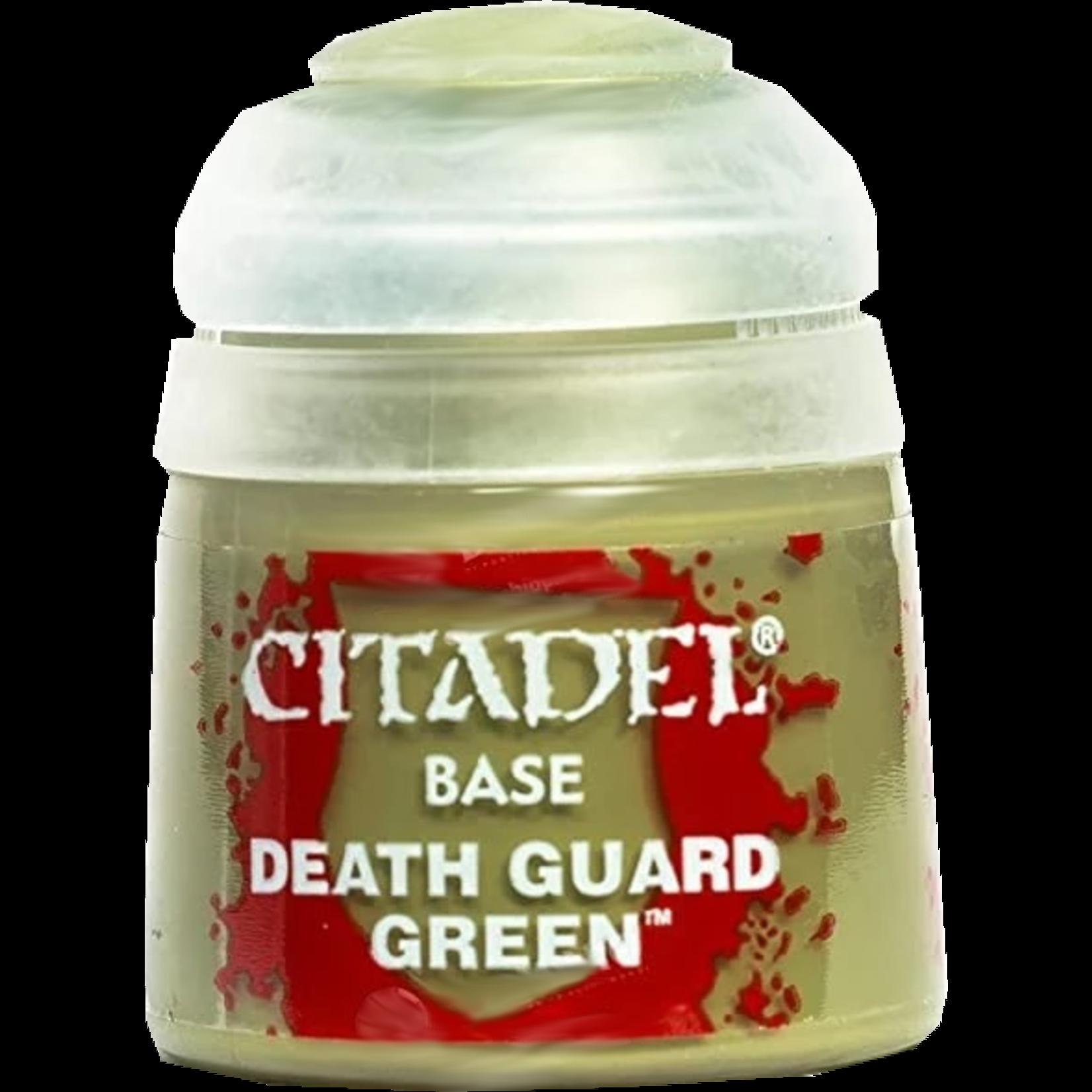 Games Workshop Base Death Guard Green
