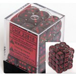 Chessex Translucent d6 Smoke red 12mm (36)