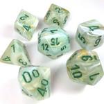 Chessex Marble Green dark green 7 die set