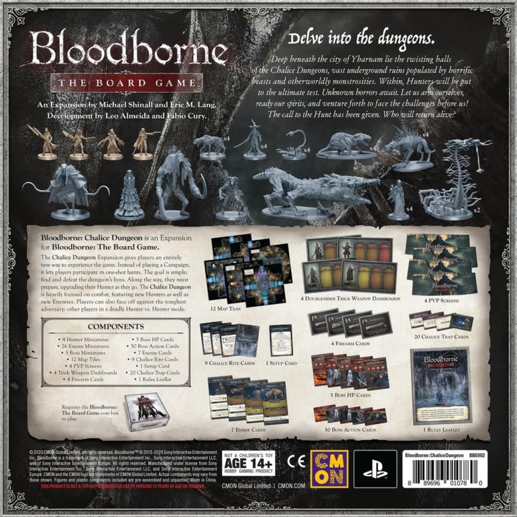 CMON Bloodborne Chalice Dungeon