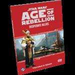 Fantasy Flight Games SW AoR RPG Desperate Allies Sourcebook Hardcover