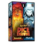 Roxley Games Dice Throne S1RRB1 Barbarian vs Moon Elf