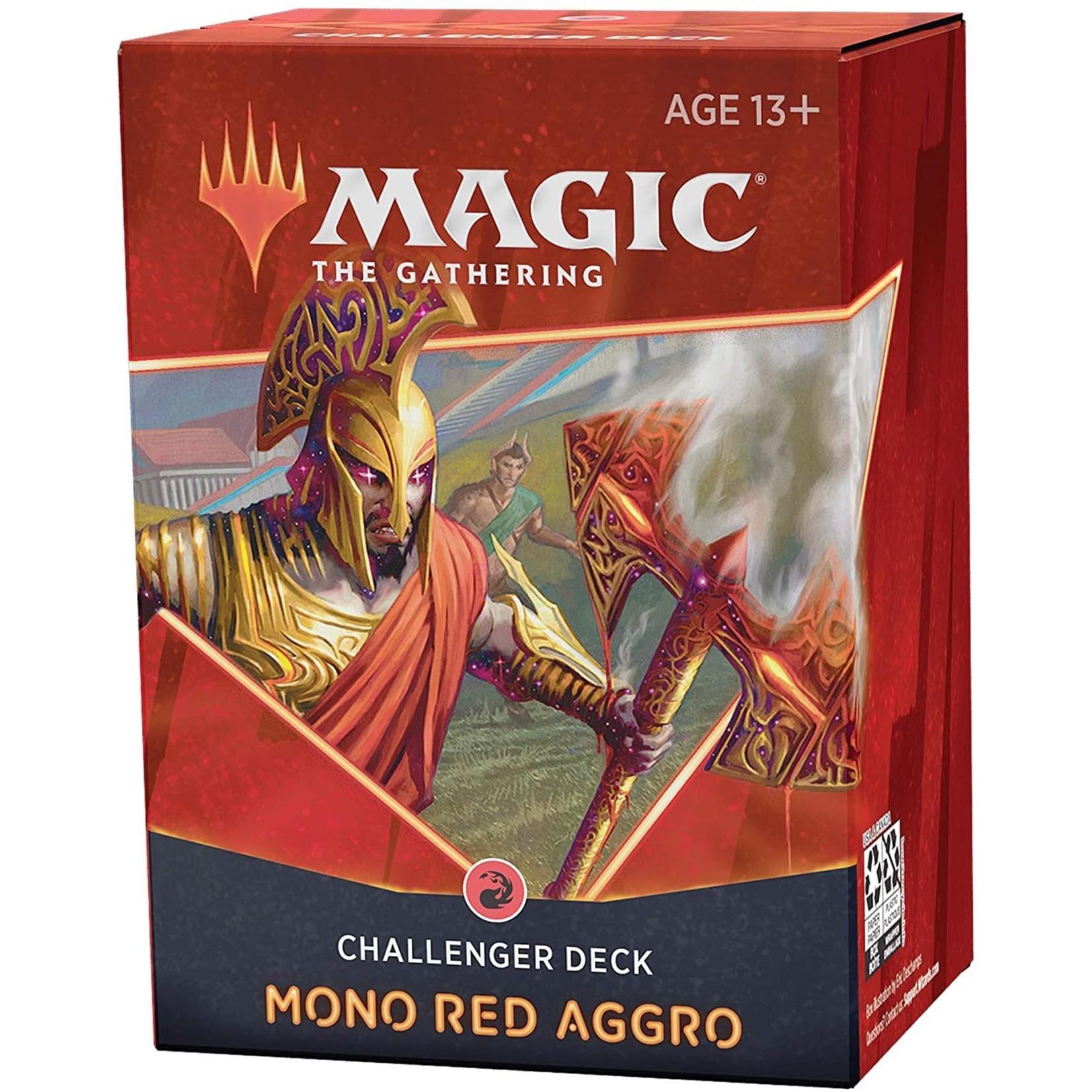 WOTC MTG 2021 MTG Challenger Deck: Mono Red Aggro