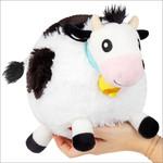 "squishable Mini Black & White Cow Squishable 7"""