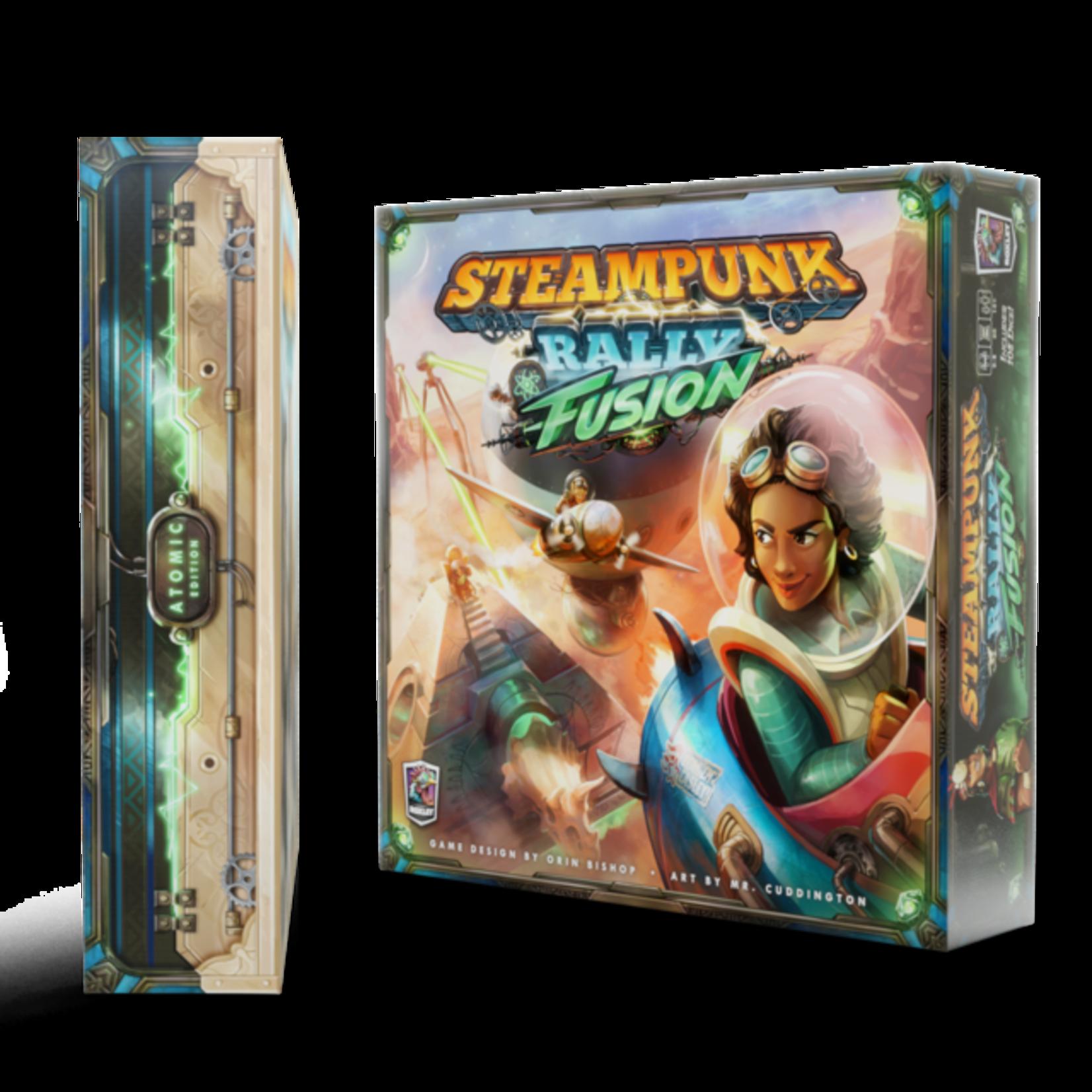 Roxely Games Steampunk Rally Fusion Deluxe ATOMIC Kickstarter