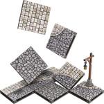 WIZKIDS/NECA WarLock Tiles: Town & Village - Town Square