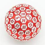45mm Metal D100 - Red and Silver