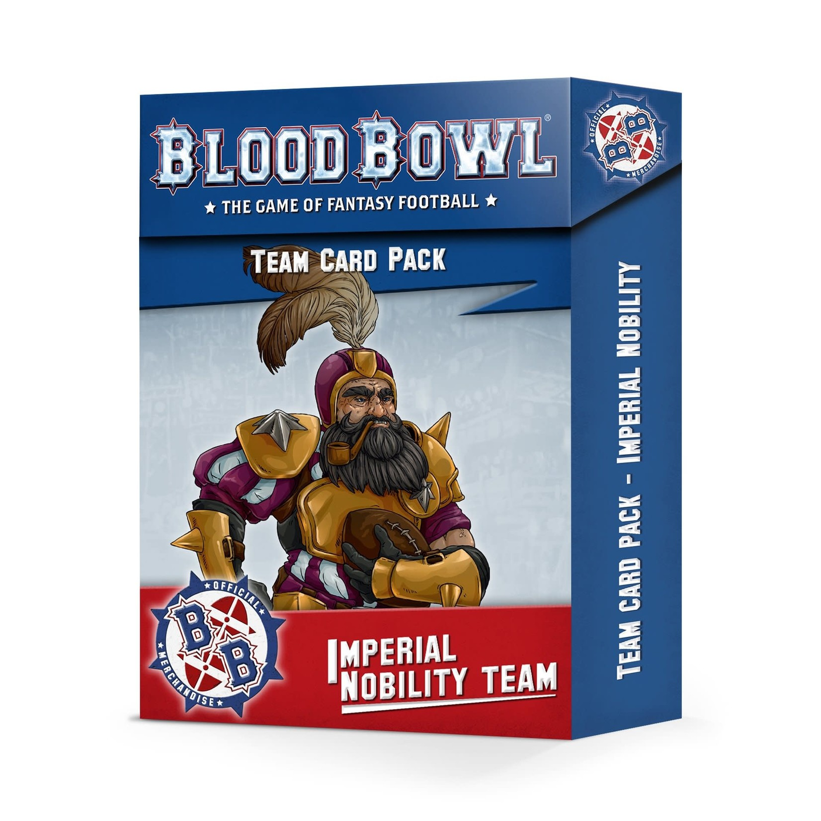 Games Workshop Blood Bowl Imperial Nobility Card Pack