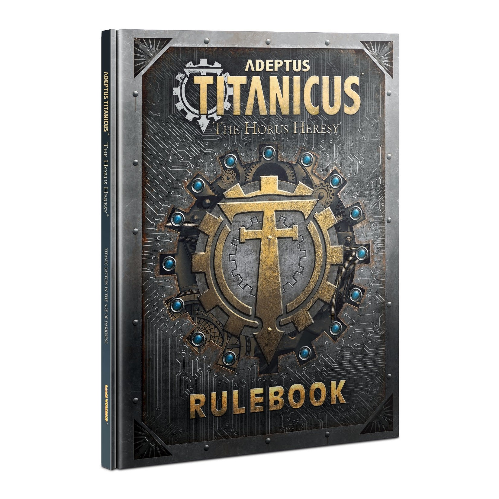 Games Workshop Adeptus Titanicus Rulebook WO