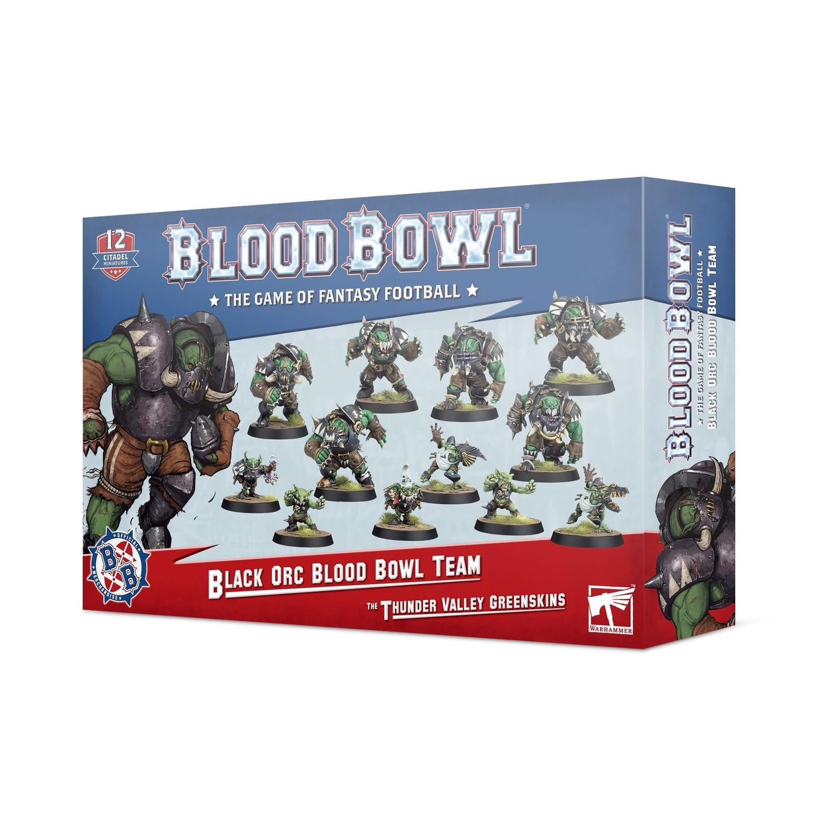 Games Workshop Blood Bowl Black Orc Team