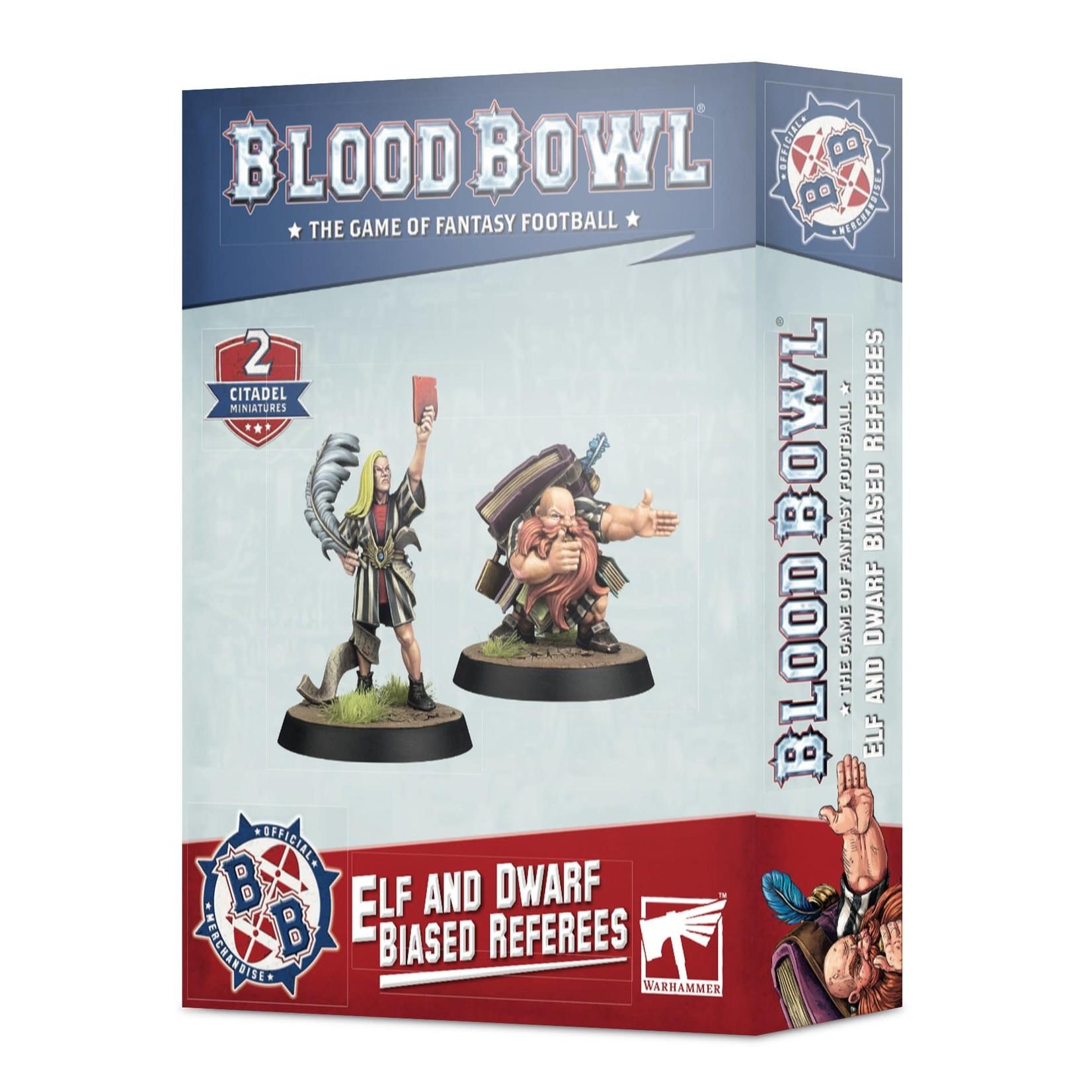 Games Workshop Blood Bowl Elf and Dwarf Biased Referees