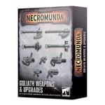 Games Workshop Necromunda Goliath Weapons & Upgrades