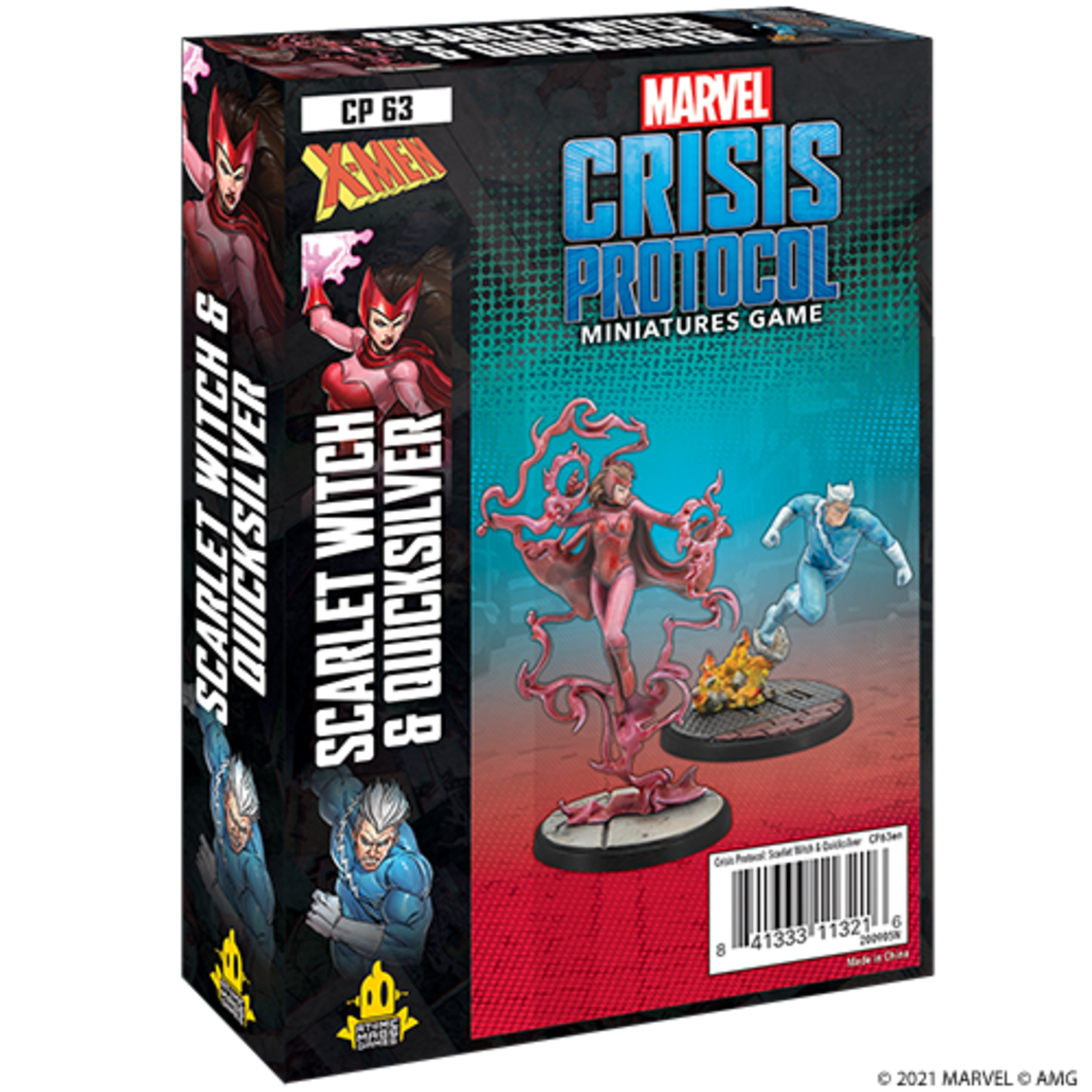 MCP Scarlet Witch & Quicksilver Character Pack - Recess Games LLC