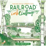 Horrible Guild Railroad Ink Challenge Lush Green Edition